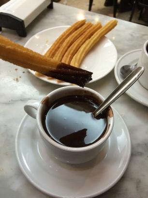 OMGs DFW Food - Madrid - San Gines