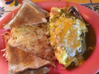 Green Chile Omelette