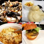 IFBC - omgsdfwfood - Miele USA Cooking Event Food - Paella Souffle Pasta Fagiole Burger Steamed Bun