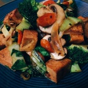 OMGs DFW Food Ginger People Tofu Stirfry