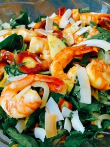 OMGs DFW Food - Tropical Shrimp Salad