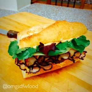 OMGs DFW Food - Sun-Kissed Turkey Pastrami
