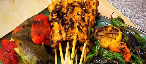 OMGs DFW Food - Grilled Skewers and Peppers 4