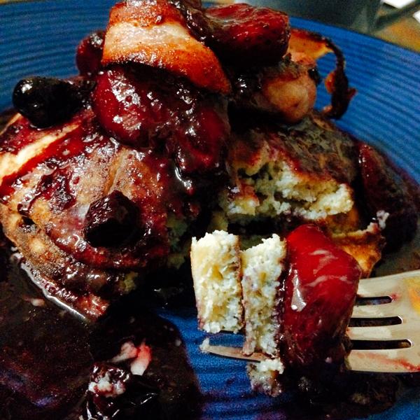OMGs DFW Food - Coconut Flour Pancakes