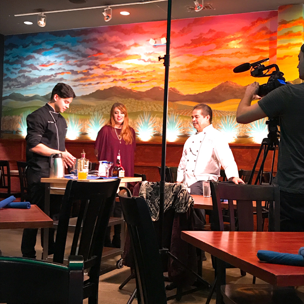OMGs DFW Food - Beto and Son - Chef Julian Chef Beto Taping